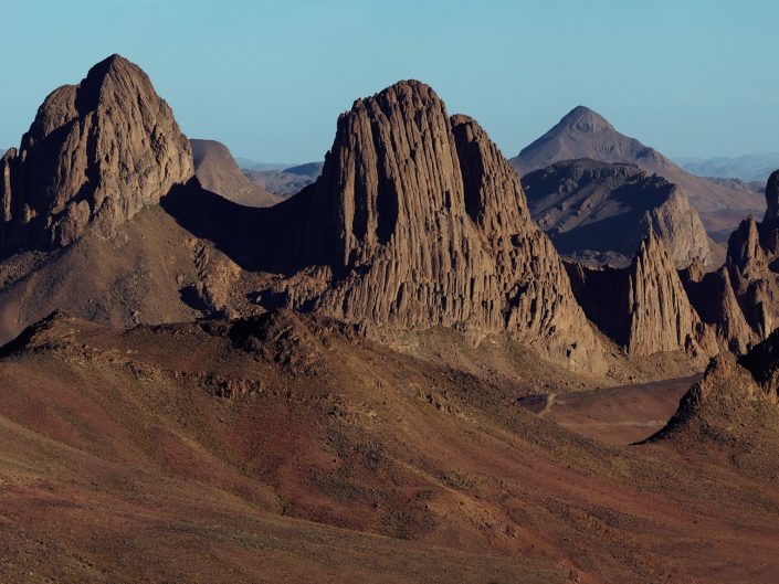 Volcanic plugs at Assakrem, Algeria