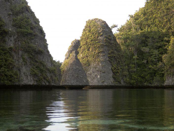 Karst scenery in Indonesia