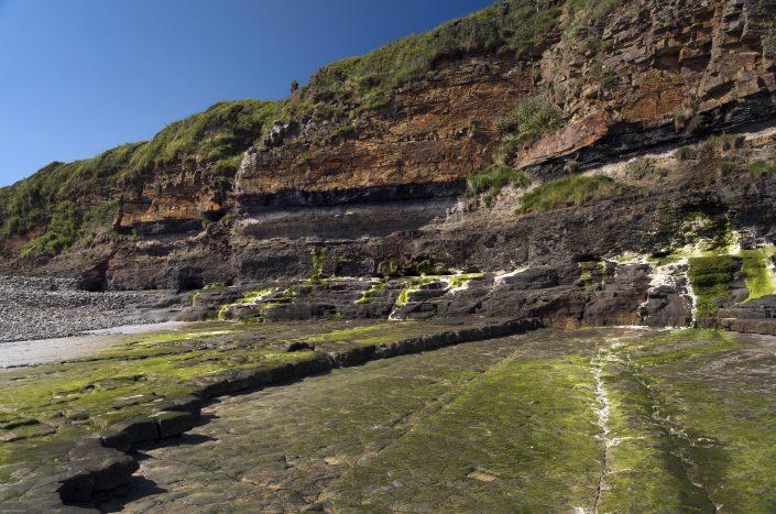 Wave cut platform at East Amroth