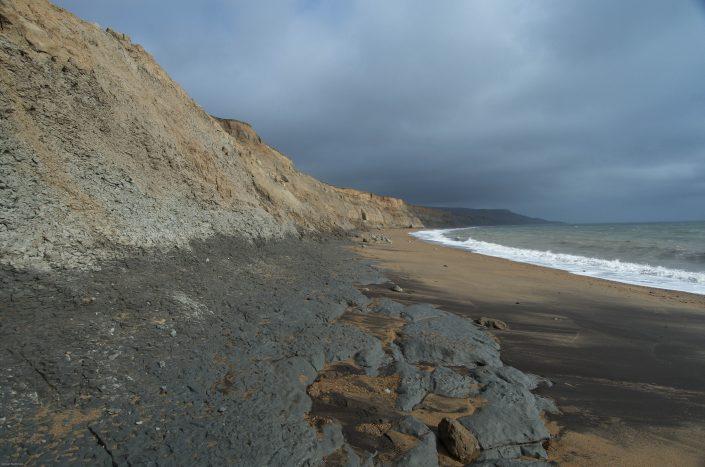 Wealden Clays near Athfield Point, Isle of Wight