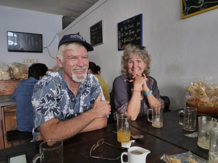 Frank Hyde and Jeni Cardinal